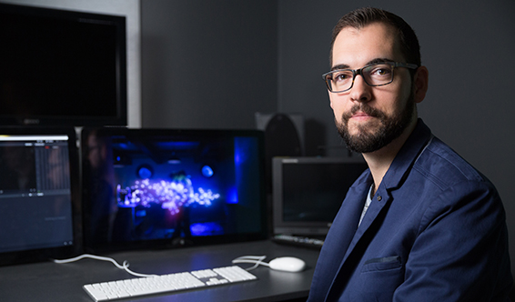 Curtin alumnus and visual effects sequence supervisor Brendan Seals