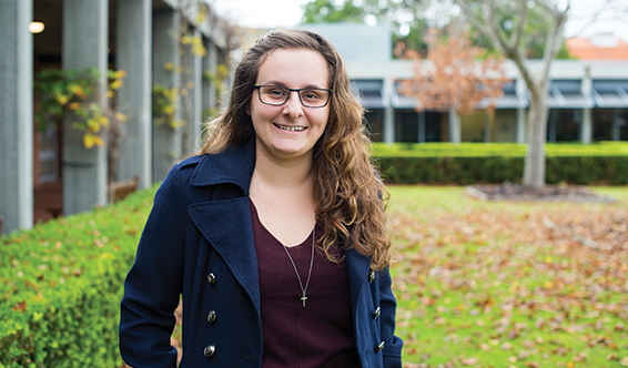 Taylor Clark, recipient of the Curtin University Create Your Own Future Scholarship.