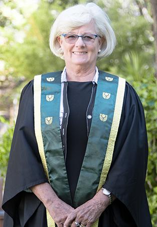 Patricia Tibbett - 2019 John Curtin Medal recipient