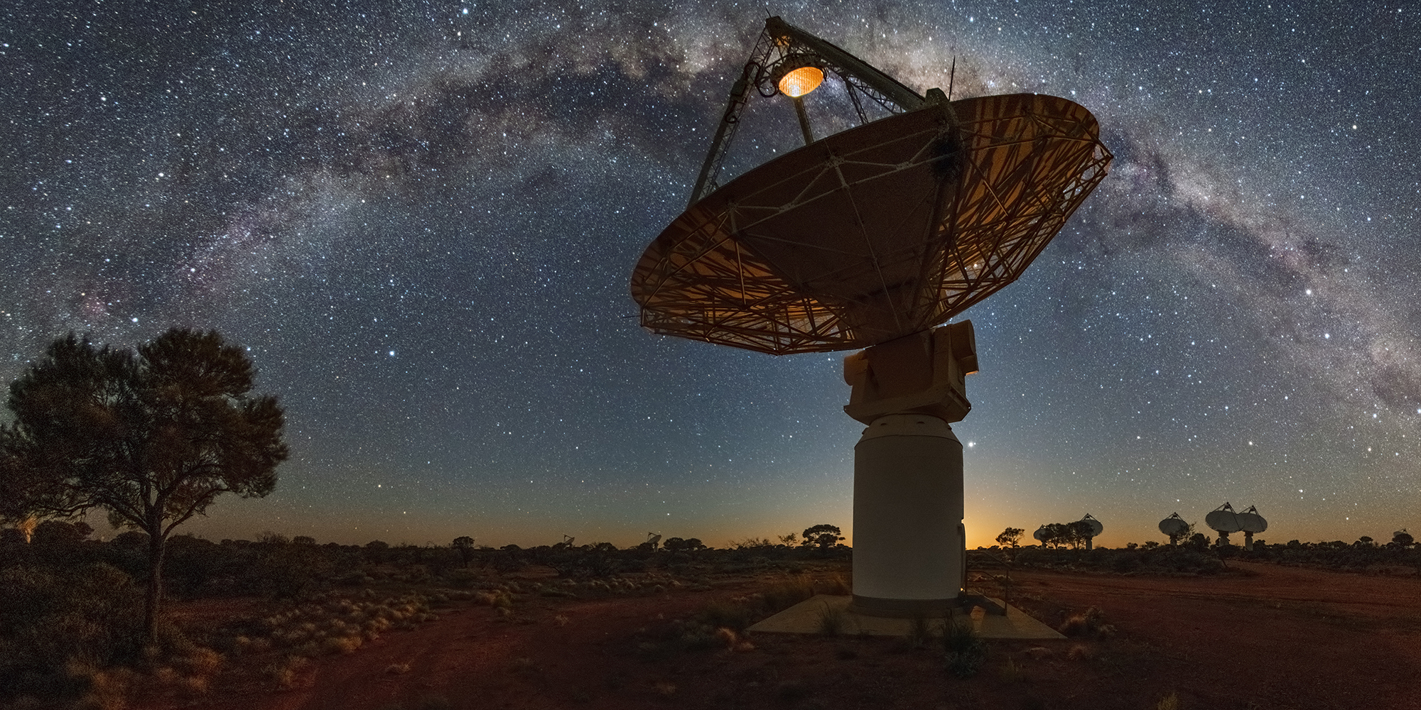 CSIRO's Australian Square Kilometre Array Pathfinder (ASKAP) telescope