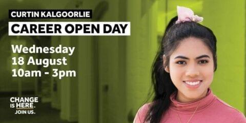 Curtin Kalgoorlie Career Open Day